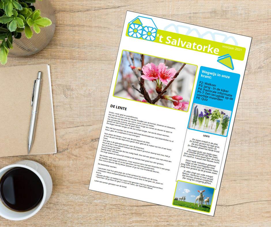 Lees meer over het artikel 't Salvatorke – Lente editie 2021